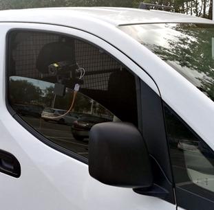 Installation du Rondier sur un véhicule