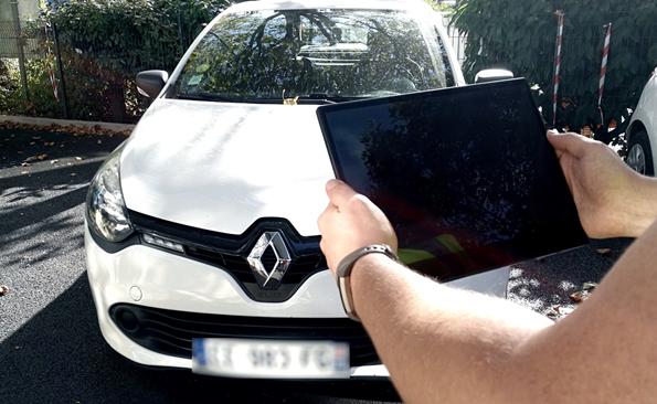 Identification du véhicule avec le Rondier